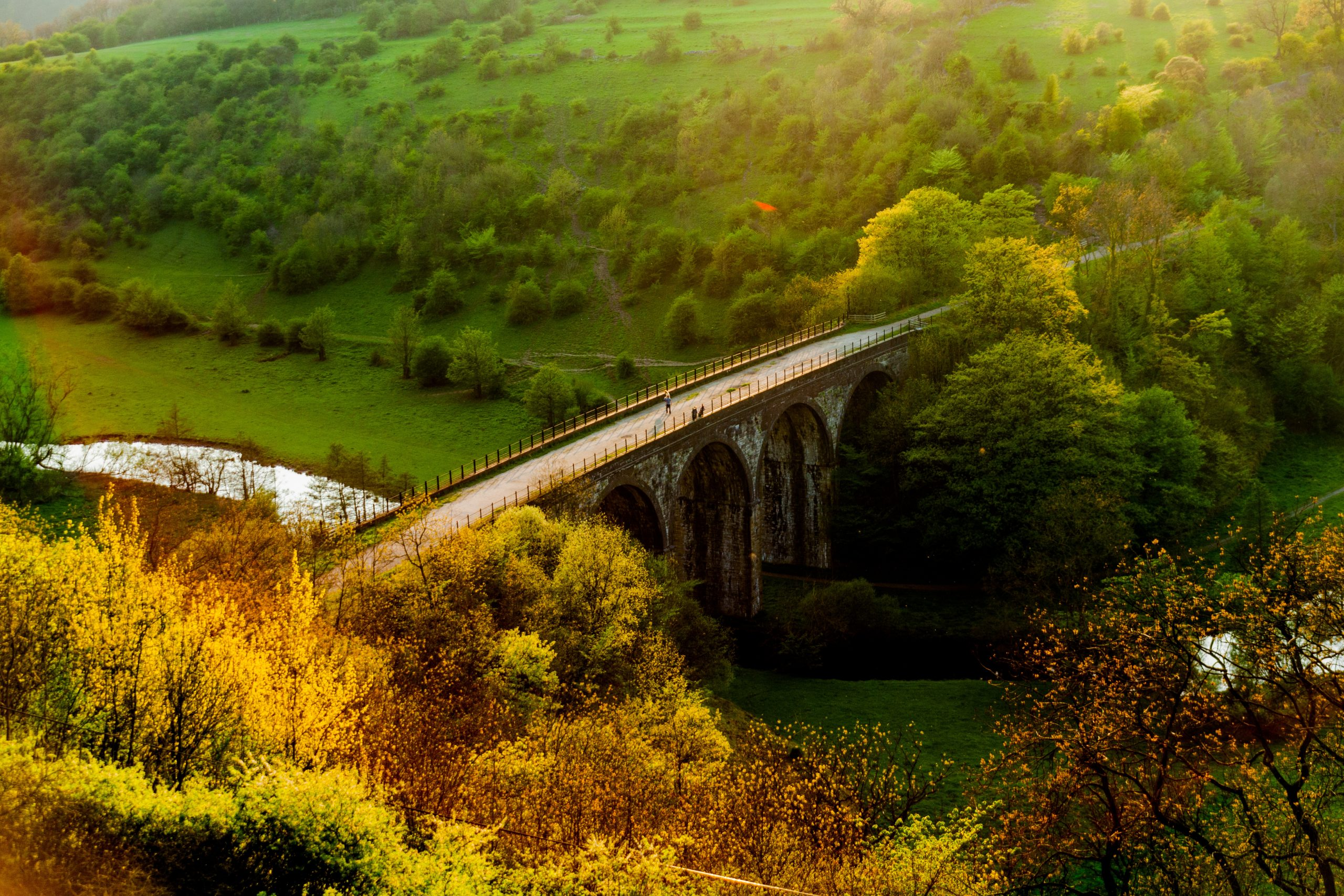 Visit the Monsal Trail with Allied Taxis